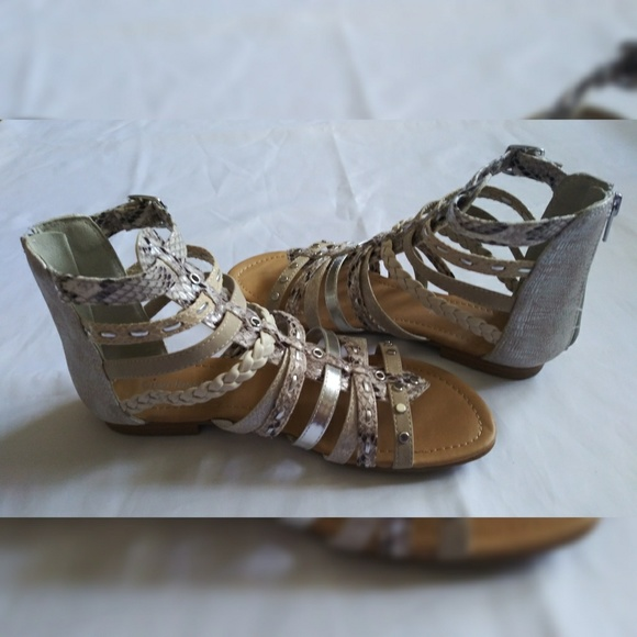 Cityclassified Shoes - City Classified Women's Gladiator Sandals Size 6.5